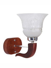 Icon Single Wooden Wall Light