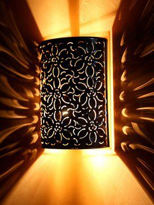 Flower Cutting Wall Light