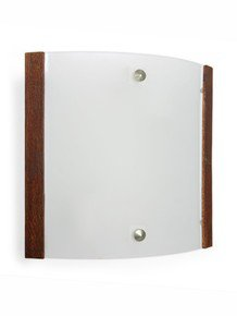 Modern Wooden Accent Wall Light