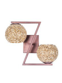 Golden Globe Double Wall Light