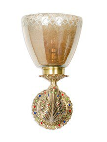 Meena Cast Brass Wall Light