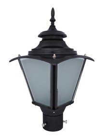 Classic Black Medium Outdoor Gate Light