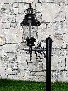 Elegant Lantern Style Bollard Light