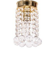 Mini Crystal Ball Flush Mount Ceiling Lamp