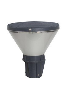 Modern Metal Conical 10 Watt Led Garden Post Gate Light