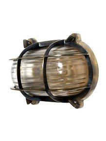 Nautical Steampunk Bulkhead Sconce Light Fixture
