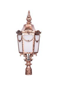 Royal Weathered Copper Big Gate Light