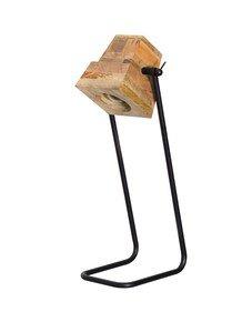 Urban Wooden Block Desk Lamp