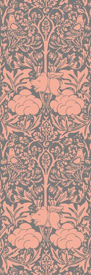 Morris dream   peachy pink and grey wallpaper mineheart treniq 1 1550947216180