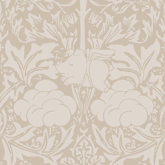 Morris dream   warm taupe wallpaper mineheart treniq 1 1550948193679