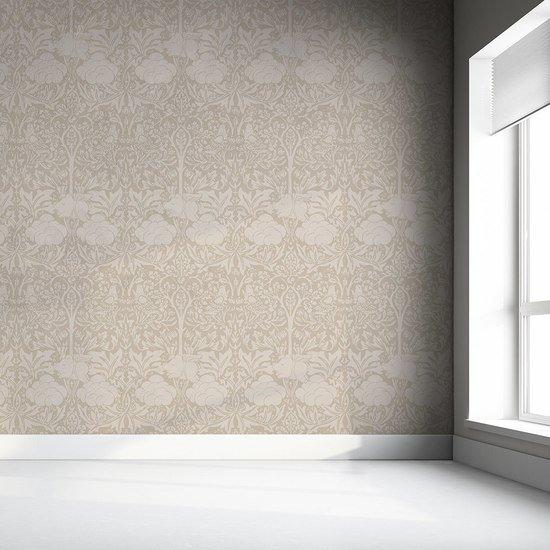 Morris dream   warm taupe wallpaper mineheart treniq 1 1550948193678