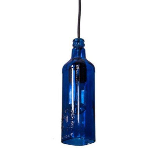 Batli blue bottle pendant light2