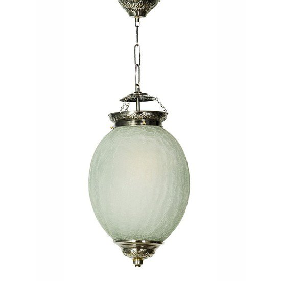 Chandni crackle oval small hanging light3