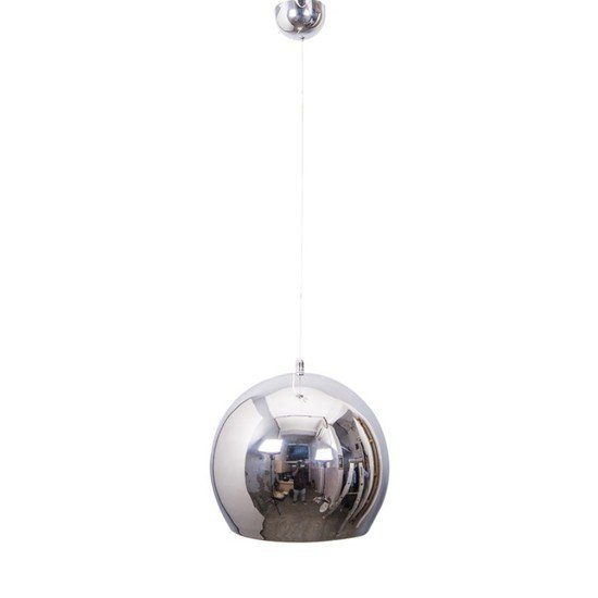 Chrome ball big pendant light1