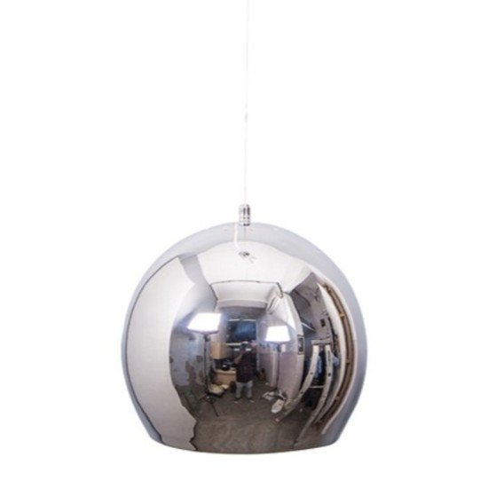Chrome ball big pendant light2