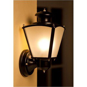Classic Black Small Outdoor Wall Light