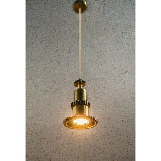 Industrial gear pendant light