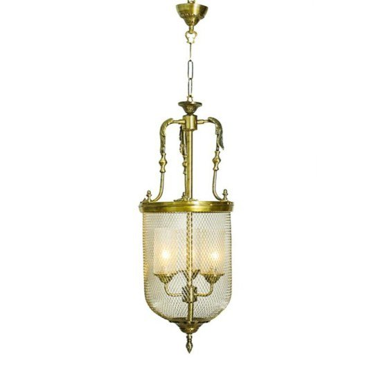 Lattice portuguese big jar pendant light