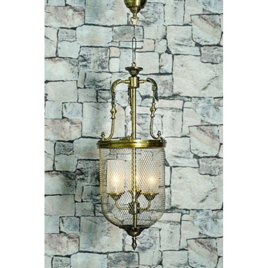 Lattice portuguese big jar pendant light1