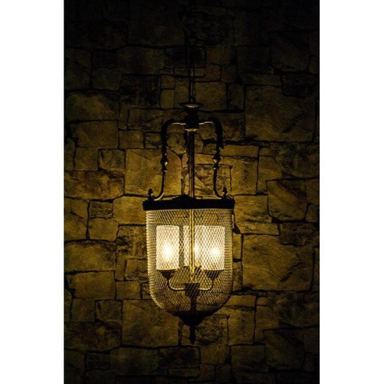Lattice portuguese big jar pendant light2