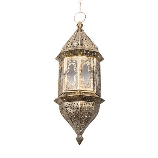 Moroccan glass hanging pendant light2