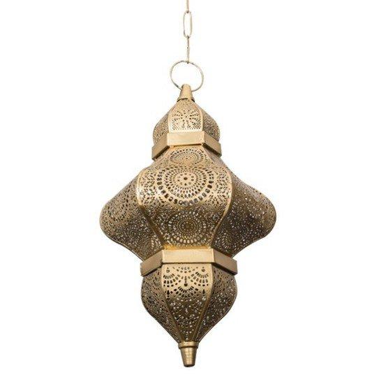 Moroccan gold hanging pendant light2