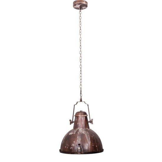 Nautical rustic brown industrial pendant light1