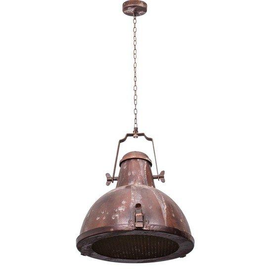 Nautical rustic brown industrial pendant light2