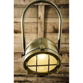 Rustic Industrial Antique Hanging Light