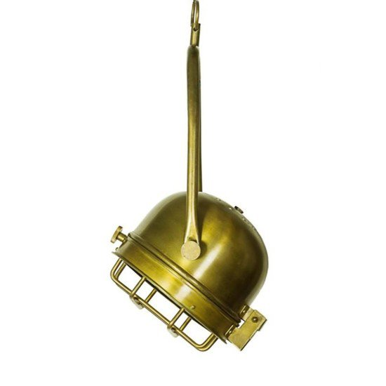 Rustic industrial antique hanging light1
