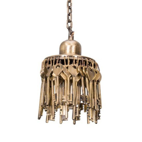 Treasure keys hanging light2