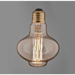 Vintage Bowl Squirrel Cage Filament Bulb.