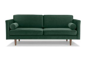 Three-Seater-Sofa-Green-Velvet-With-Bolster-Cushions_Asic-Furniture_Treniq_0