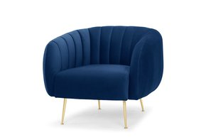 Armchair-Electric-Navy-Blue,-Scalloped-Back,-Gold-Legs_Asic-Furniture_Treniq_0