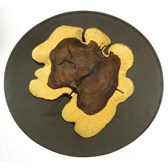 Resin   rose wood coffee table1