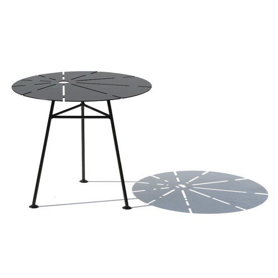 3 bam bam table all metal small n tall cut out exterior