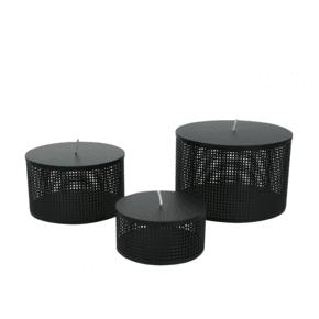 Boîte - Metal Boxes Black - Medium