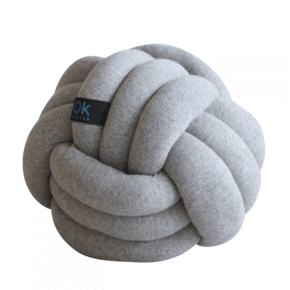 Chango Cushion Big Ø32 Grey