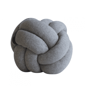Chango Cushion Small Ø26 Grey