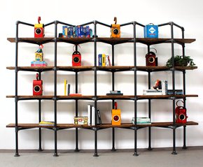 Byrom-Reclaimed-Scaffolding-Boards-And-Dark-Steel-Pipe-Zig-Zag-Shelving/Boo_Urban-Grain_Treniq_0
