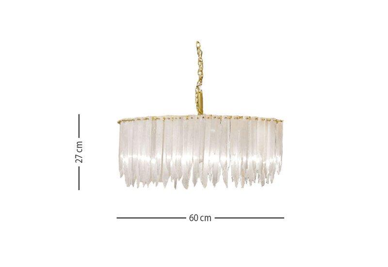 Sway 1 tier chandelier aura treniq 2