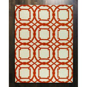 Arabesque Rug-Coral-9' X 12'