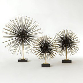 Boom Tabletop Sculpture-Brass-Lg