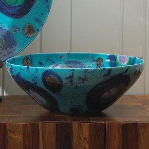 Blue Spots Bowl
