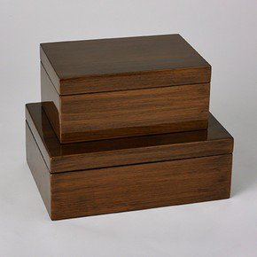 Woodgrain Box-Sm