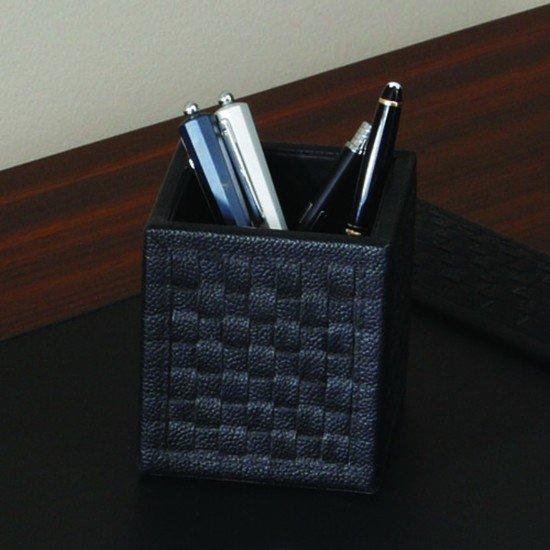 9.91664  woven pencil cup black