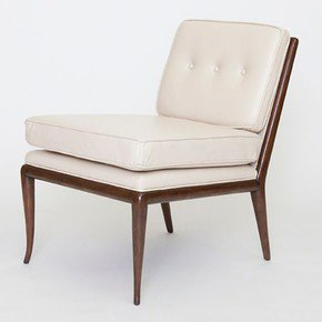 Wilson Chair-Beige Leather