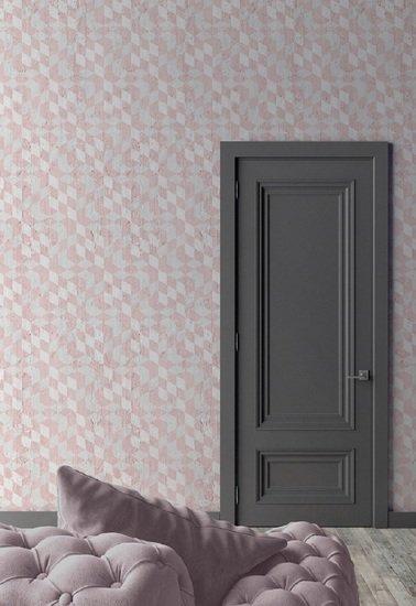 Pink optical cubes wallpaper mineheart treniq 1 1553953616665