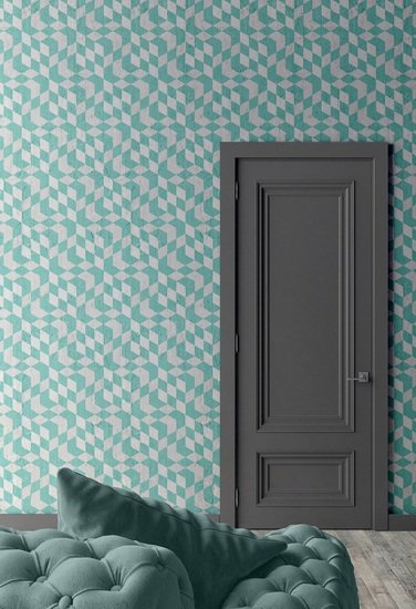 Aquamarine optical cubes wallpaper mineheart treniq 1 1553955102455
