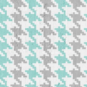 Pied-De-Poule-Wallpaper-Aquamarine-&-Grey_Mineheart_Treniq_0